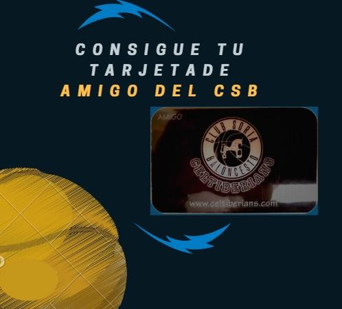 HAZTE AMIGO DEL CLUB SORIA BALONCESTO