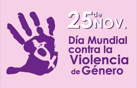 DIA INTERNACIONAL DE LA VIOLENCIA DE GENERO 25 NOVIEMBRE 2018