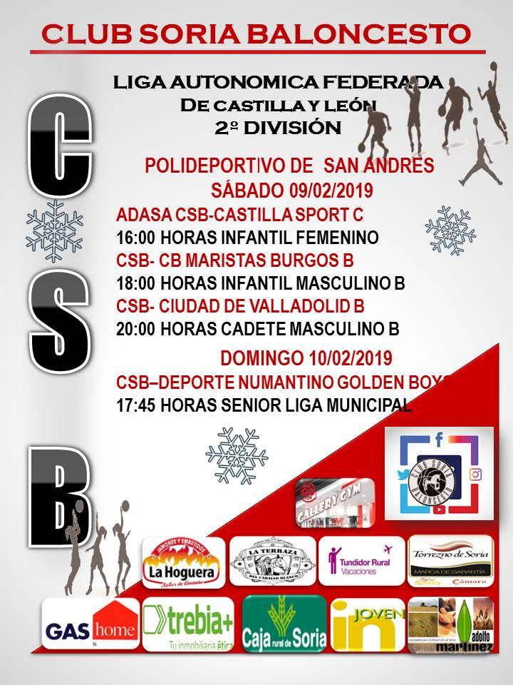 18ª JORNADA. RECTA FINAL PARA LA CANTERA DEL CSB--DESPLAZAMIENTOS