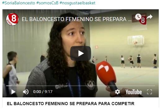 REPORTAJE: EL BALONCESTO FEMENINO SE PREPARA PARA COMPETIR