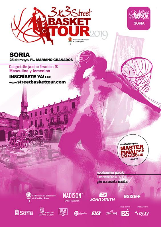 STREET BASKET TOUR SORIA 25 MAYO 2019 - ÚLTIMOS 2 DÍAS PARA LAS INSCRIPCIONES