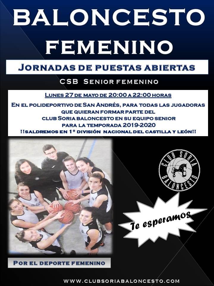 JORNADAS ABIERTAS BALONCESTO FEMENINO