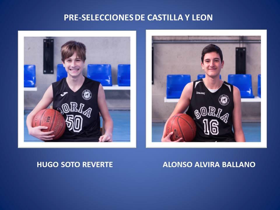 CONVOCATORIAS PRE-SELECCIONES DE CASTILLA Y LEON