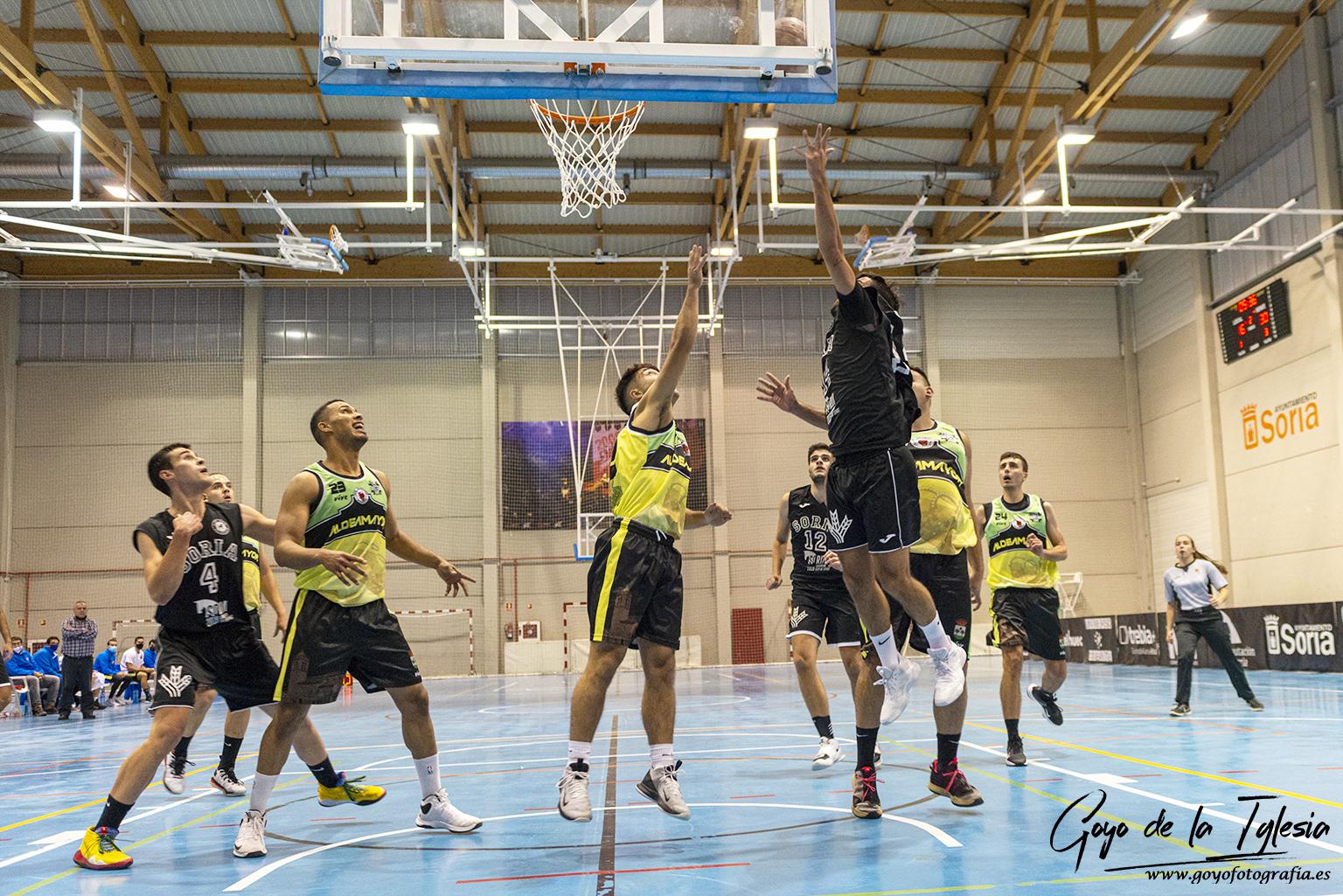 sdsVictoria en la prórroga del CSB Soria Ciudad del Deporte