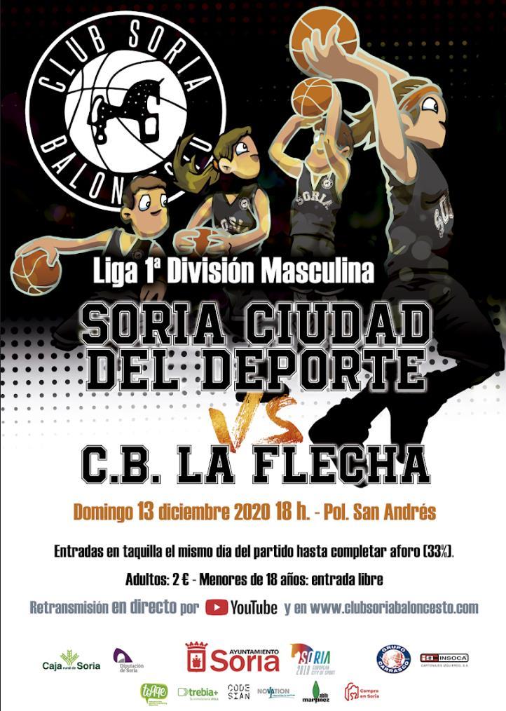 ¡Volvemos a San Andrés! Segundo partido como local del CSB Soria Ciudad del Deporte