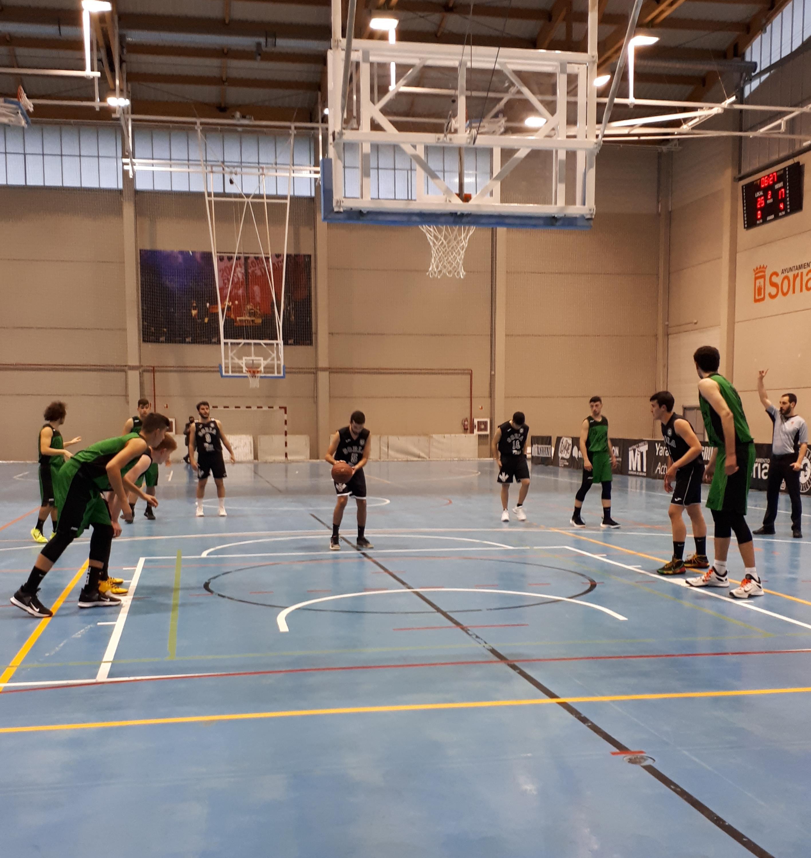 Derrota del CSB Soria Ciudad del Deporte ante CD Claret