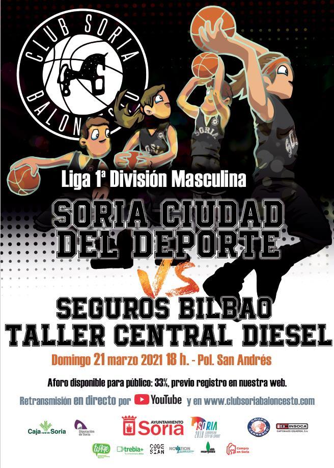 Reserva entrada para volver a San Andrés a animar al CSB Soria Ciudad del Deporte