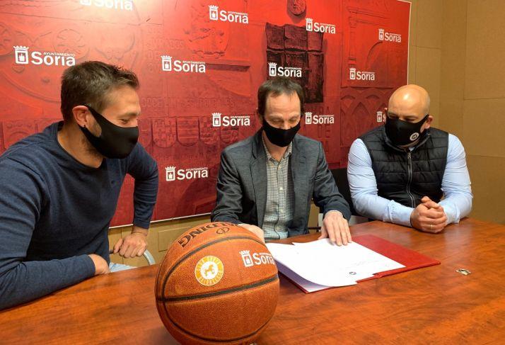 Ayuntamiento de Soria y CSB renuevan su convenio de colaboración