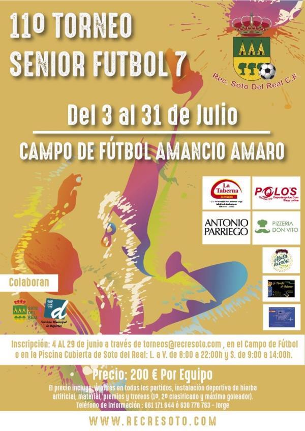 11º TORNEO SENIOR FUTBOL-7