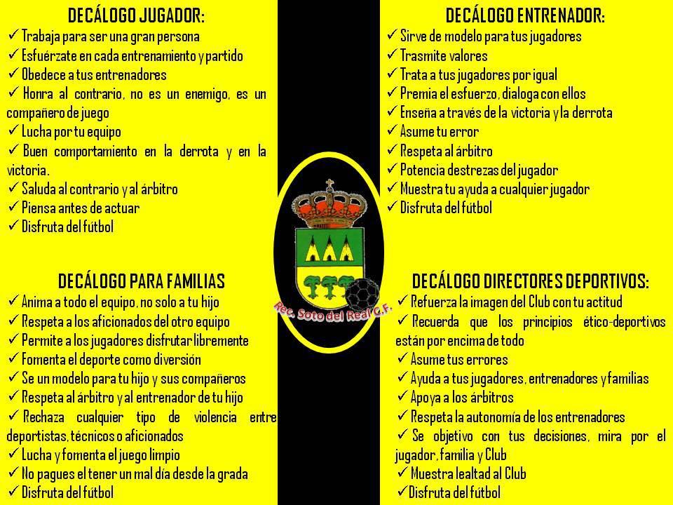 DECÁLOGO DE CONCIENCIACIÓN