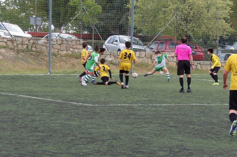 MANZANARES EL REAL 5-0 ALEVIN