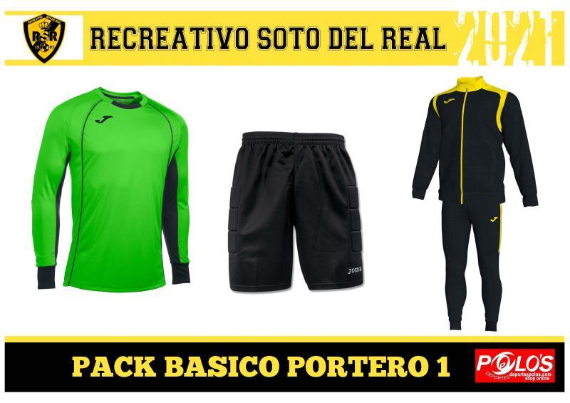 PACK BASICO PORTERO 2021-2022