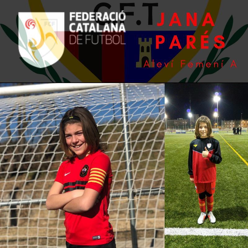 JANA PARÉS, EL FUTBOL FEMENÍ SEGUEIX CREIXENT...