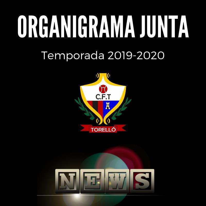 ORGANIGRAMA JUNTA DIRECTIVA CFT_2019-2020