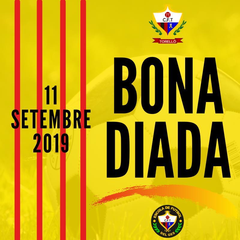 BONA DIADA DE CATALUNYA 2019