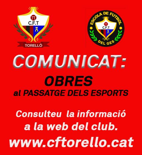 IMPORTANT:COMUNICAT DE L