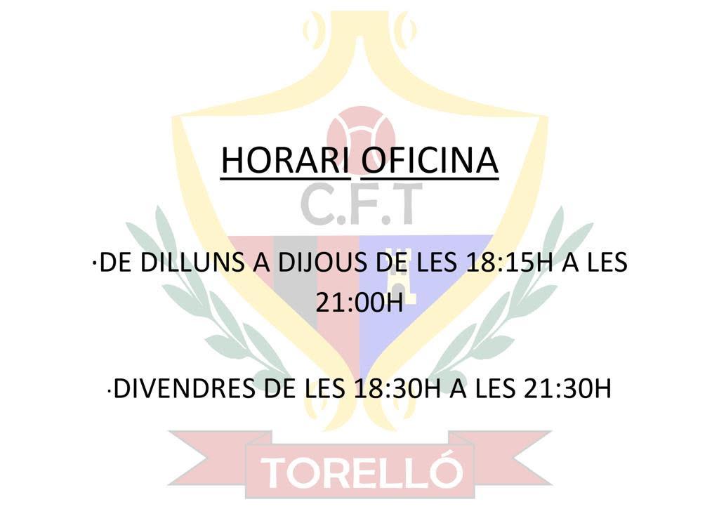 HORARIS D'ATENCIÓ A MARES_PARES I SOCIS