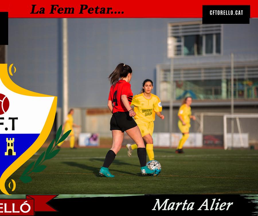 LA FEM PETAR... amb la MARTA ALIER