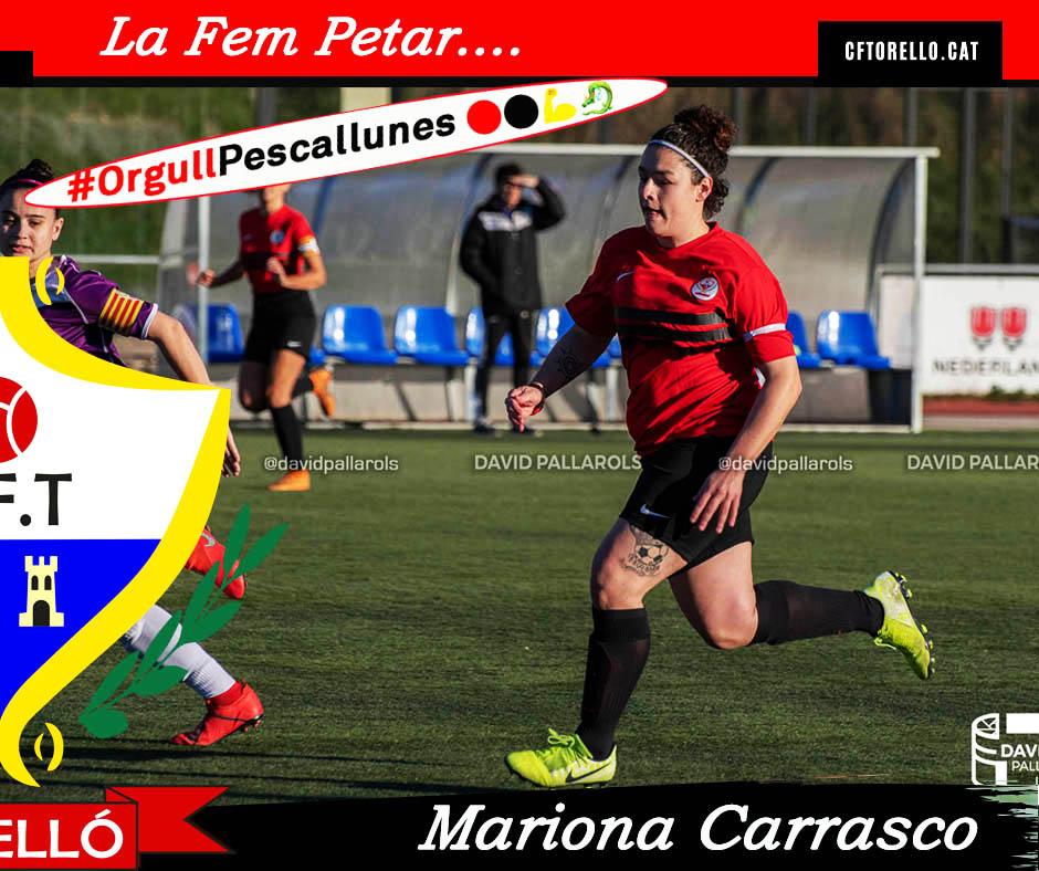 LA FEM PETAR AMB MARIONA CARRASCO