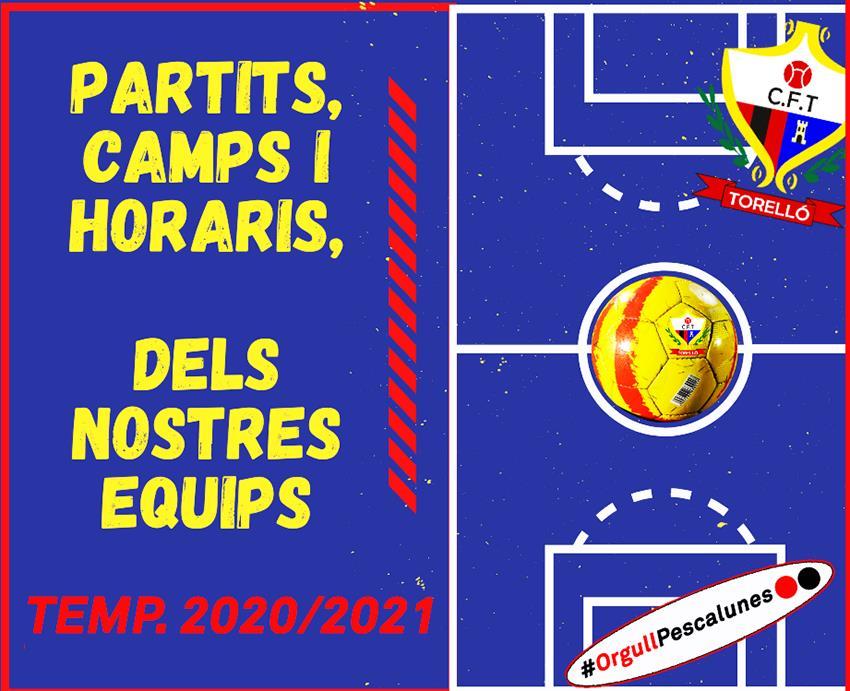 PARTITS AMISTOSOS DEL CAP DE SETMANA DELS NOSTRES EQUIPS_ 26 I 27/09/2020