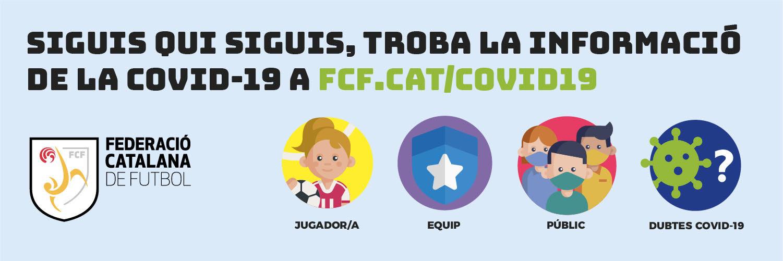INFORMACIÓ COVID-19 DE LA FCF