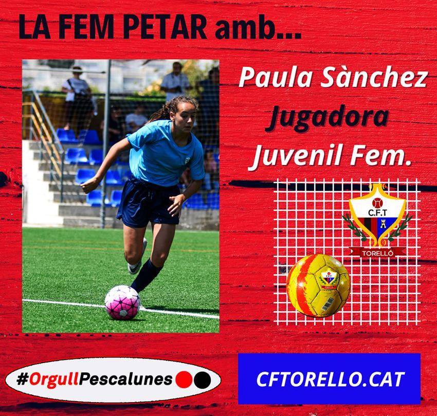 LA FEM PETAR AMB PAULA SÀNCHEZ