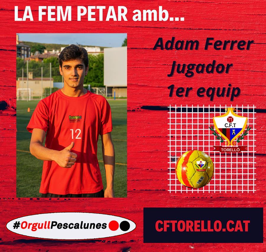 LA FEM PETAR AMB L'ADAM FERRER