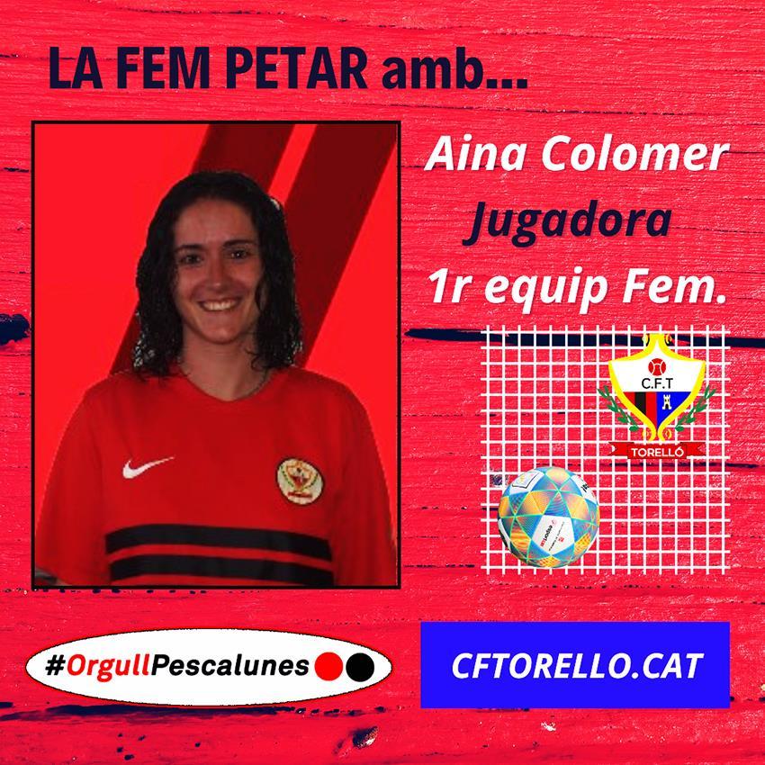 LA FEM PETAR amb L'AINA COLOMER
