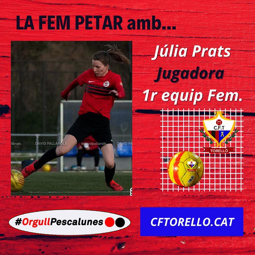 LA FEM PETAR... amb JÚLIA PRATS