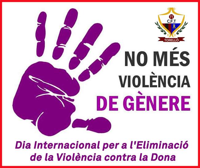 Avui DIA INTERNACIONAL CONTRA LES VIOLÈNCIES MASCLISTES