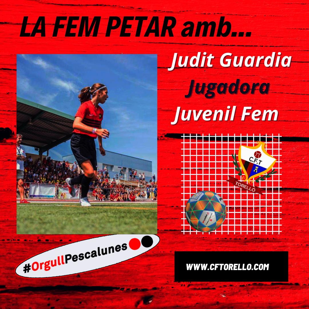LA FEM PETAR AMB JUDIT GUARDIA