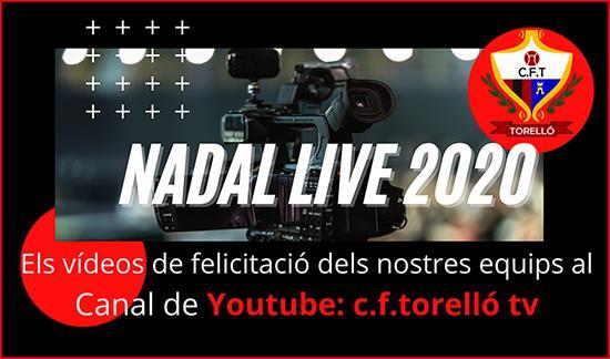 NADAL LIVE 2020 AL YOUTUBE