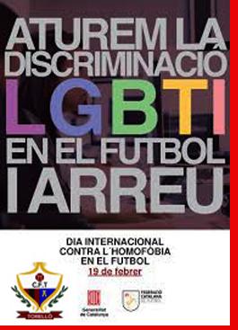 DIA INTERNACIONAL contra la LGTBIfòbia A l'ESPORT