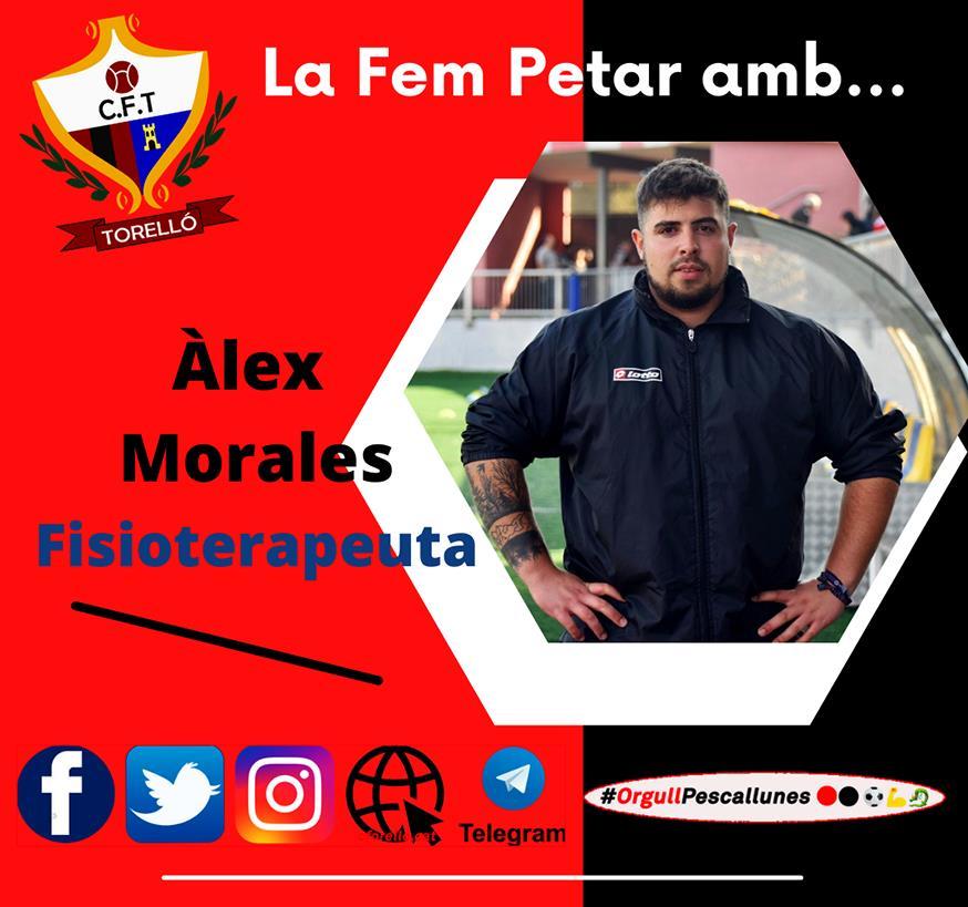LA FEM PETAR... amb l'ÀLEX MORALES