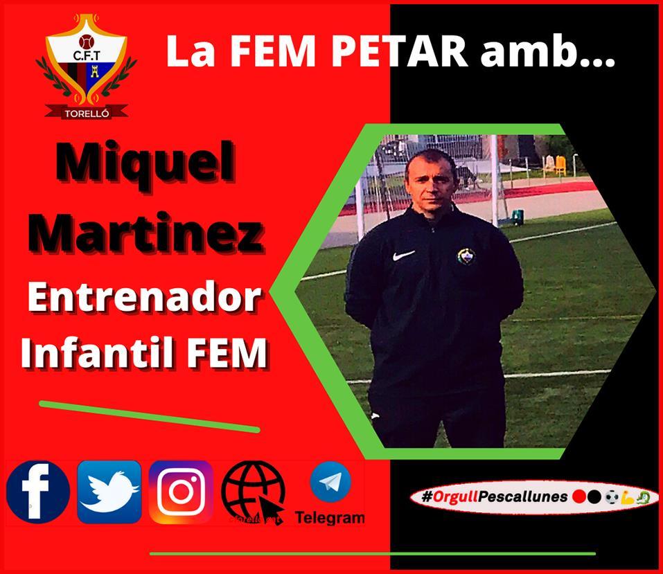 LA FEM PETAR AMB MIQUEL MARTINEZ