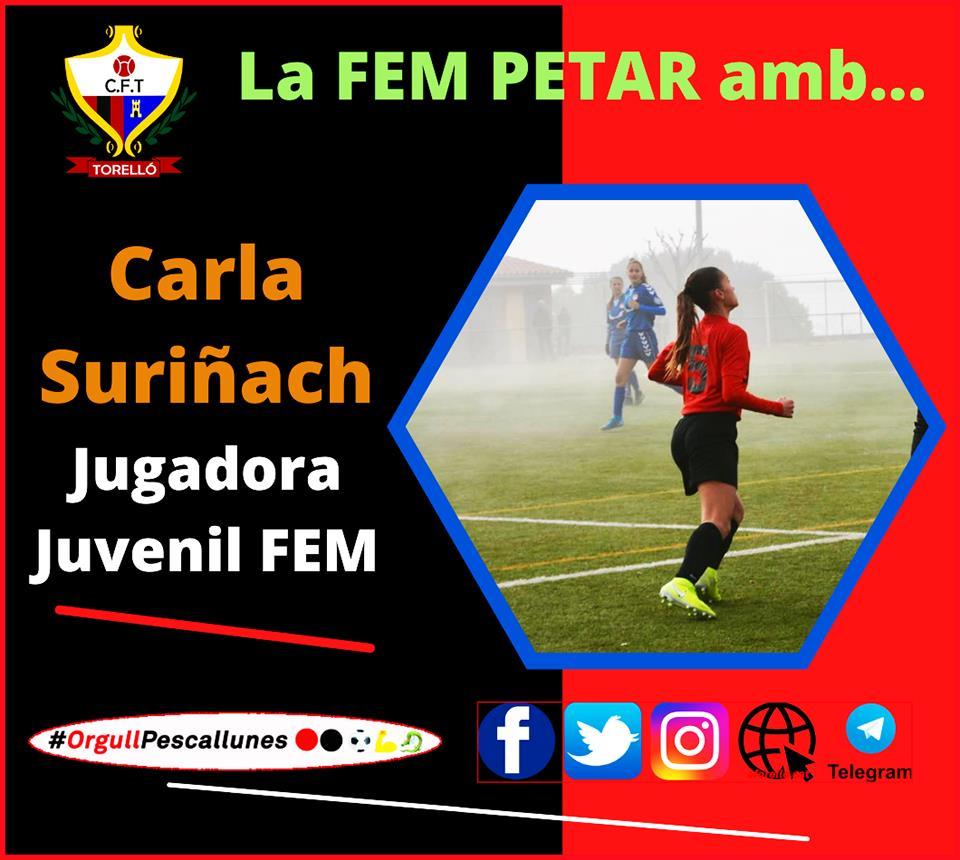 LA FEM PETAR AMB CARLA SURIÑACH