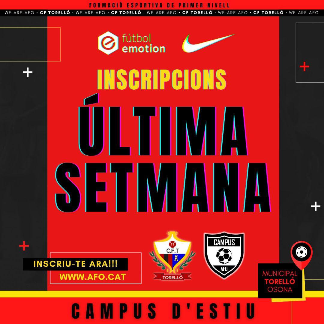 CAMPUS DE FUTBOL D'ESTIU 2021