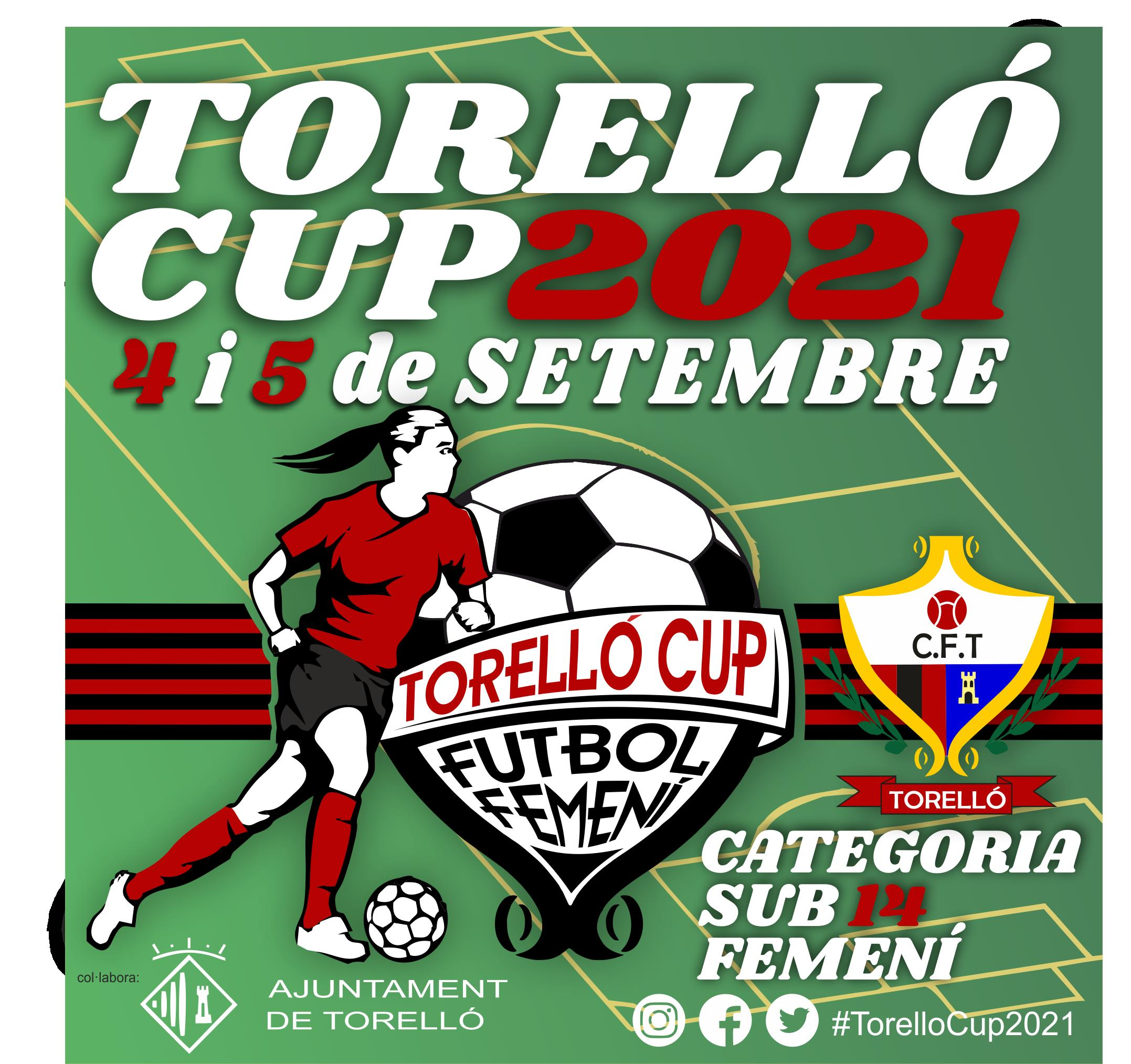 sds#TorelloCup2021 serà els dies 4 i 5 de Setembre 2021