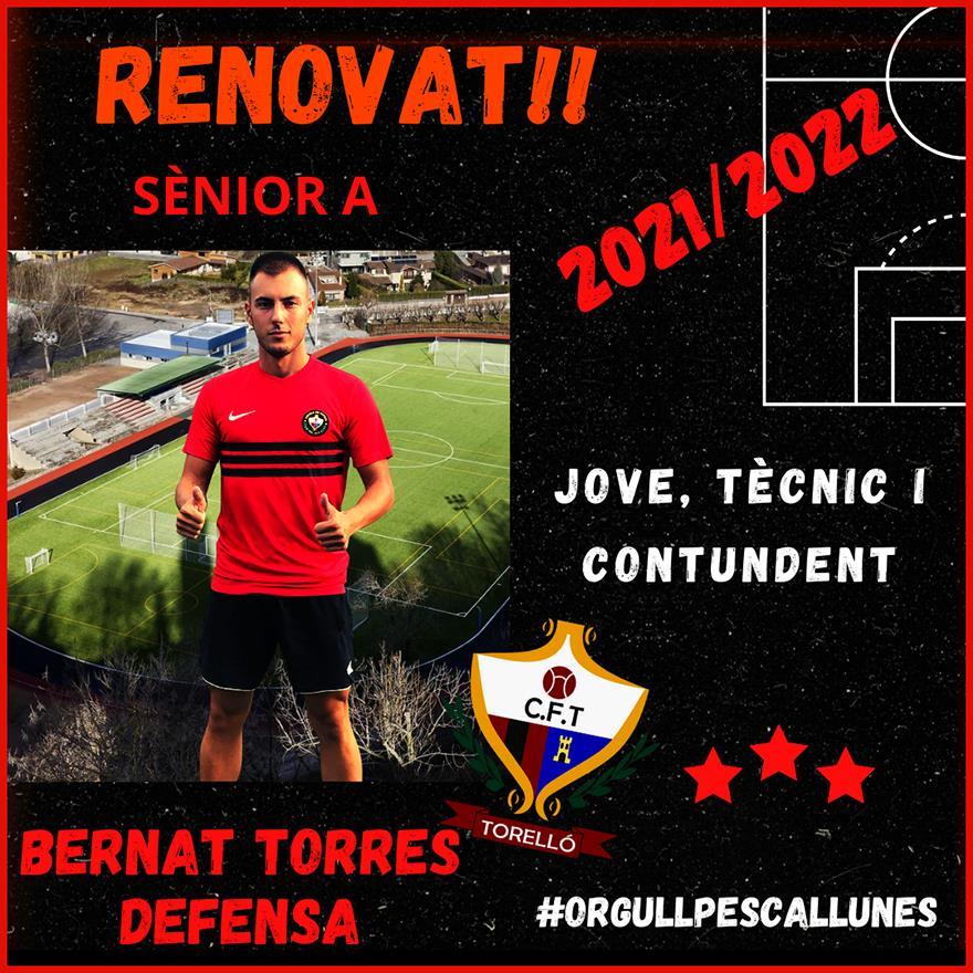 RENOVAT: Bernat Torres