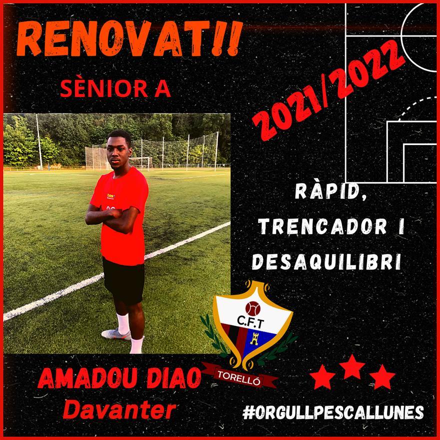RENOVAT: Amadou Diao ( Ama)