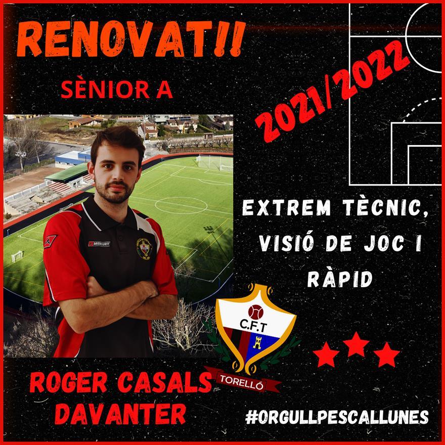 RENOVAT: Roger Casals