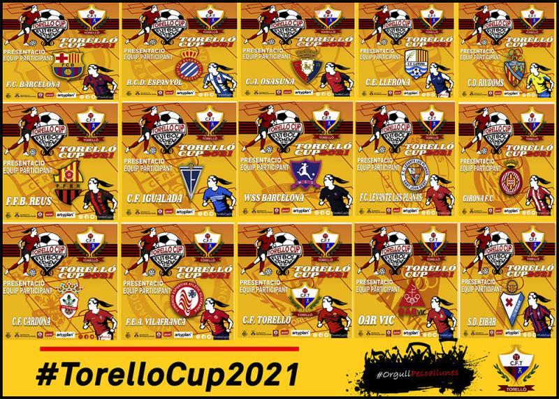 EQUIPS PARTICIPANTS TORELLÓ CUP 2021
