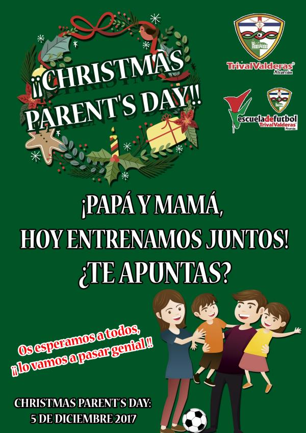 CHRISTMAS PARENT'S DAY!!