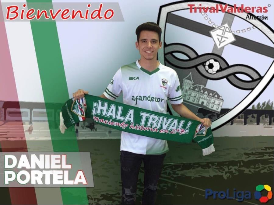 OFICIAL/ Fichaje Daniel Portela Aficionado