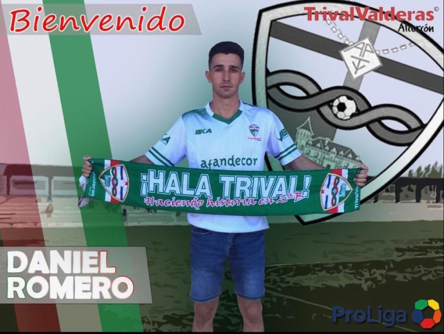 OFICIAL/ Fichaje Daniel Romero Aficionado