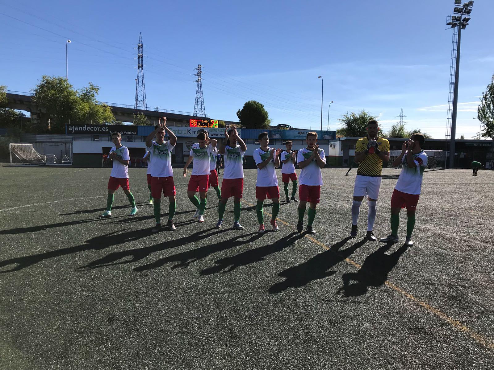 PREFERENTE/ Victoria trivalera en la cuarta jornada de liga frente al C.D. Sitio Aranjuez