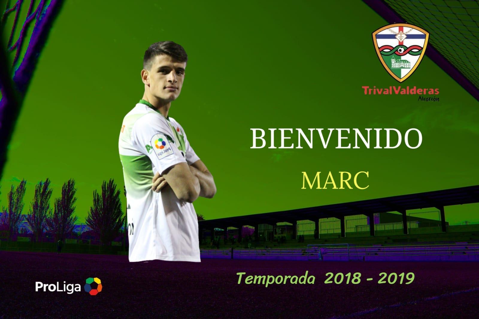 OFICIAL: Marc, nueva incorporación del Primer Equipo