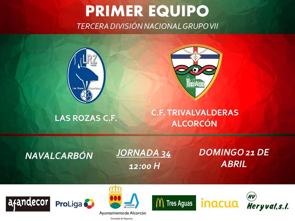 PREVIA TERCERA/ Las Rozas - TrivalValderas Alcorcón
