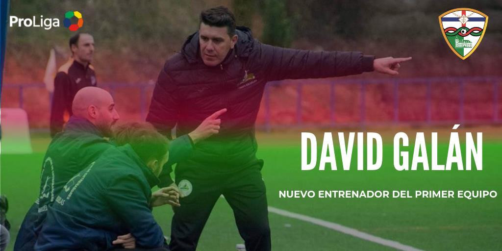 COMUNICADO OFICIAL | DAVID GALÁN NUEVO ENTRENADOR DEL PRIMER EQUIPO
