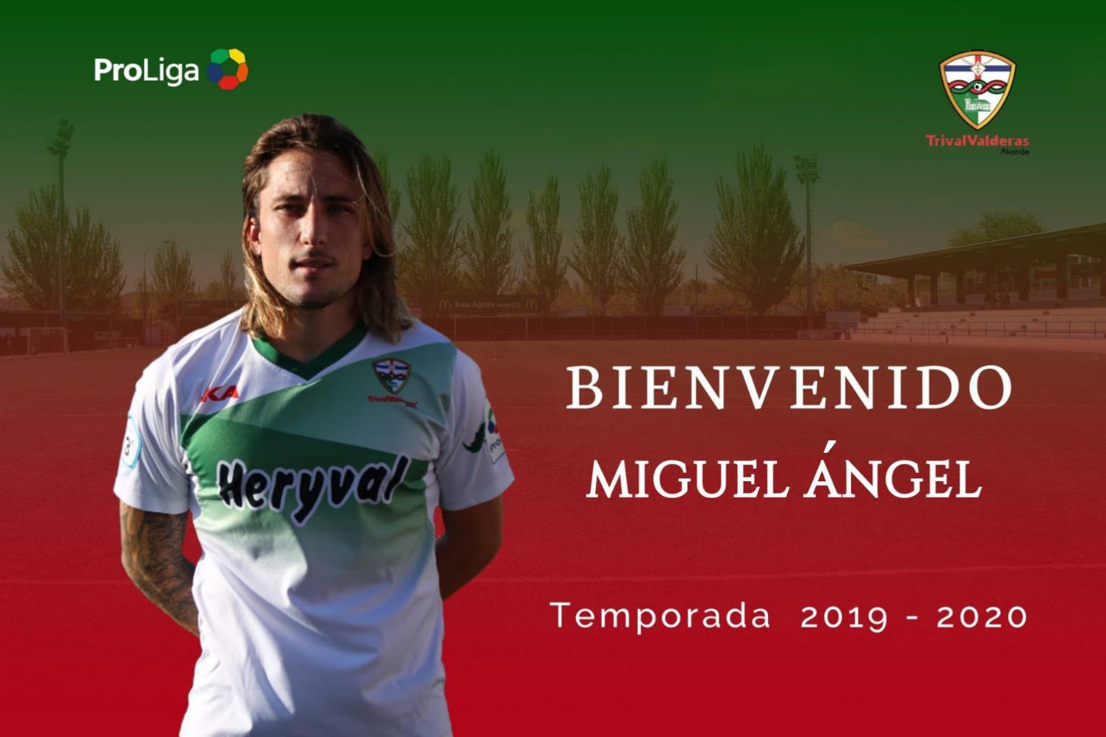 OFICIAL | Miguel Ángel, nueva incorporación del Primer Equipo